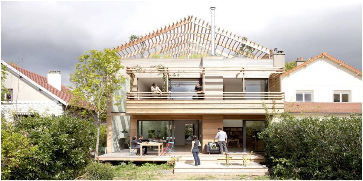 Maison éco-durable