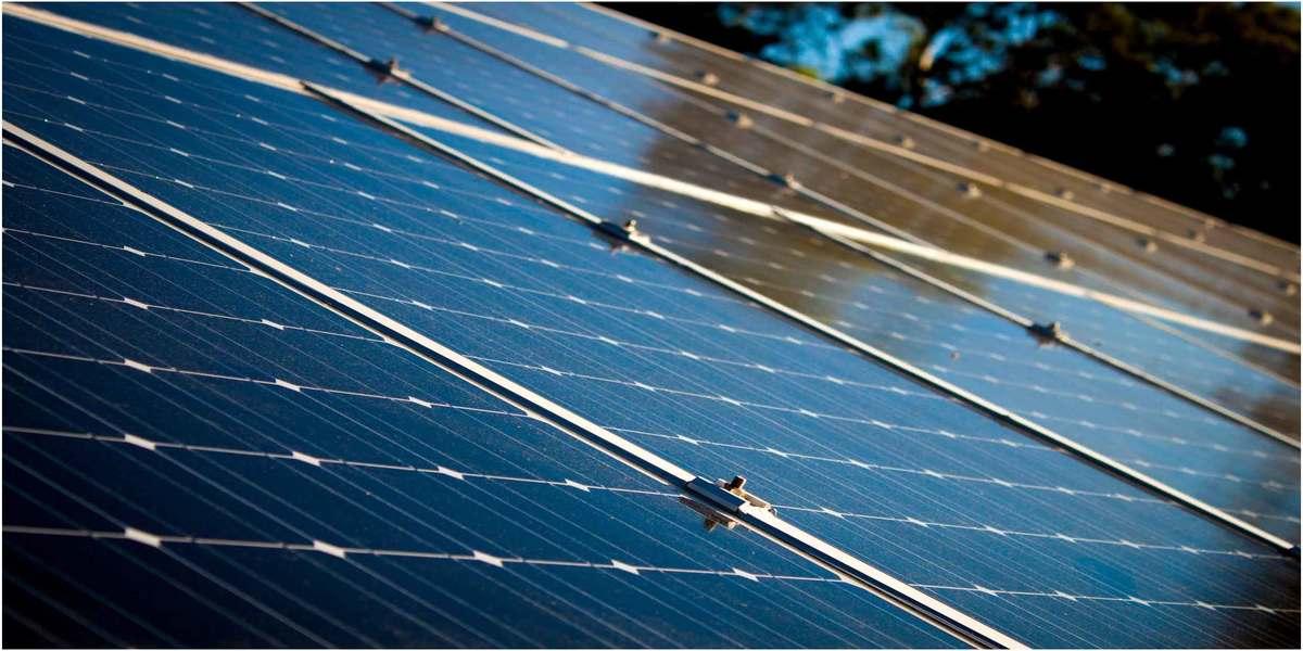 design ecologique avec des panneaux solaire